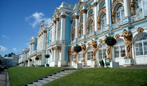 Russland Reise - St. Petersburg, Katharinen Palast, Zarskoje Selo