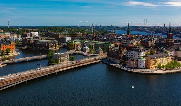 Schweden Rundreise - Stockholm von oben