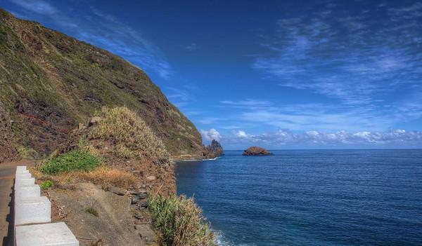 Blick auf die Insel Madeira