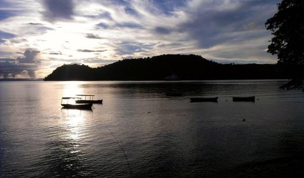 Sonnenuntergang am Arenalsee
