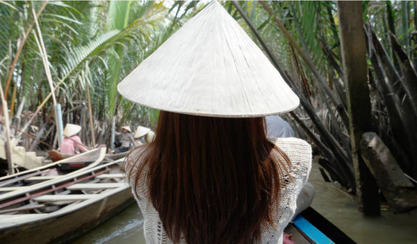 Das Mekong Delta in Vietnam