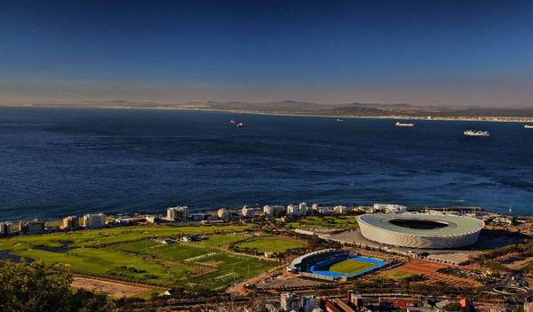 Kapstadt von oben.