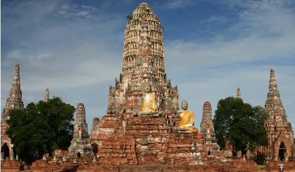 Ayuttaya in Thailand