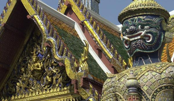 Thailändische Tempel