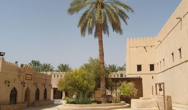 Oman Reise - Nizwa Fort, Festung von Nitzwa