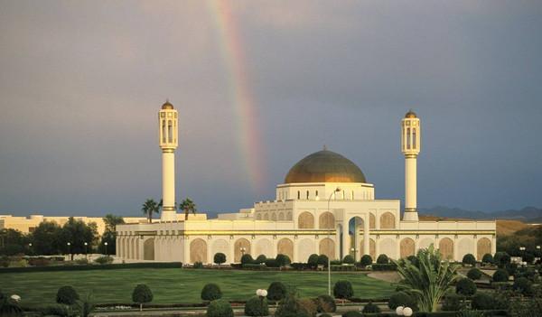 Oman Reise Muscat - Moschee der Sultan Qaboos University
