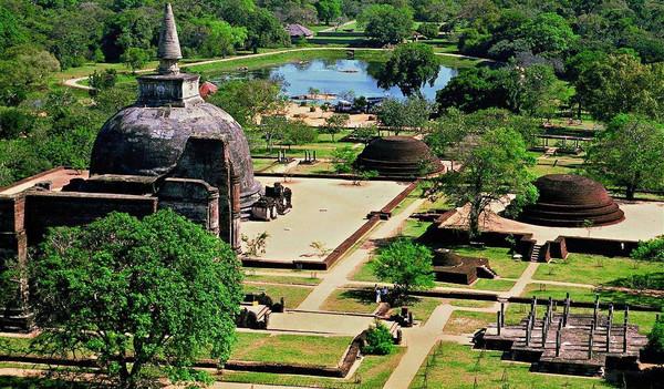 Polonnaruwa ist eine Stadt auf Sri Lanka