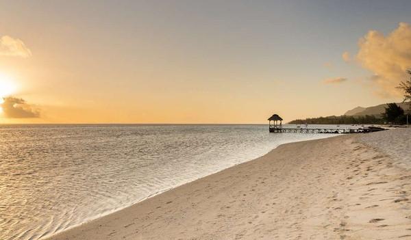 Der Strand von Mauritius