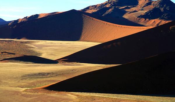 Namibias trockene Wüsten
