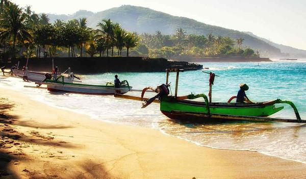 Der traumhafte Strand Balis