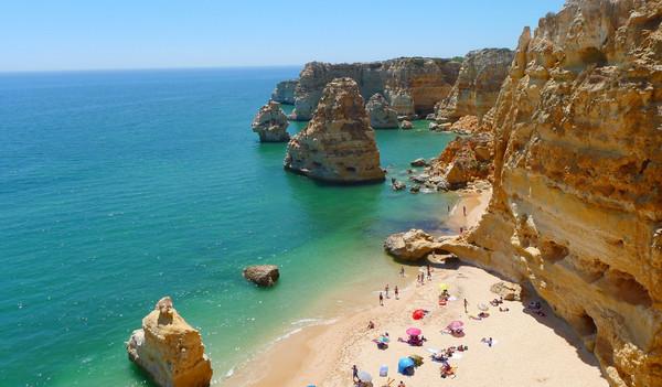 Portugal Urlaub - Portugal Reise - Strand Praia de Odeceixe